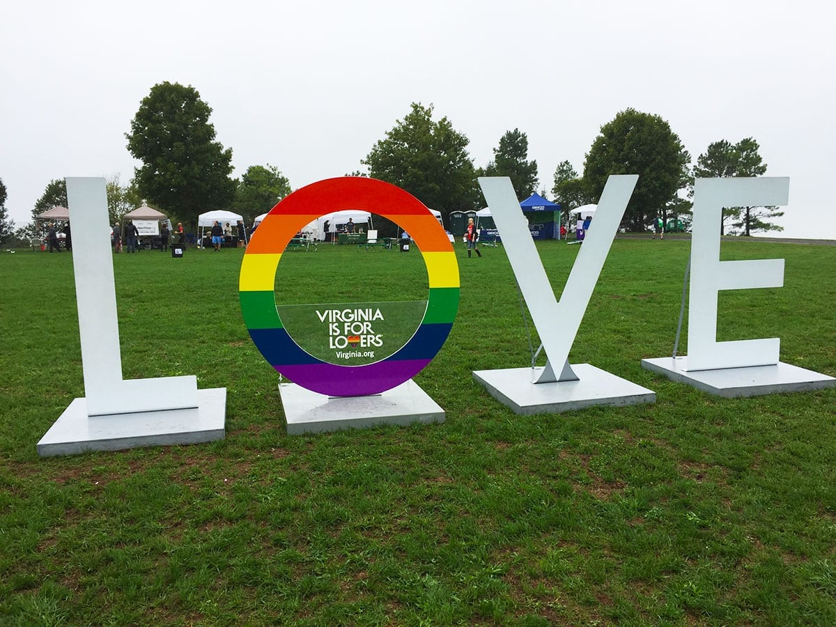 Virginia is For Lovers at NOVA Gay Pride