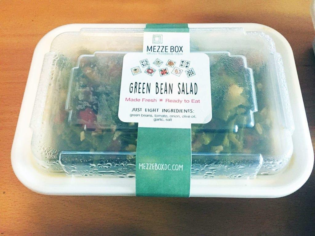 Green Bean Salad from Mezze Box Food Service