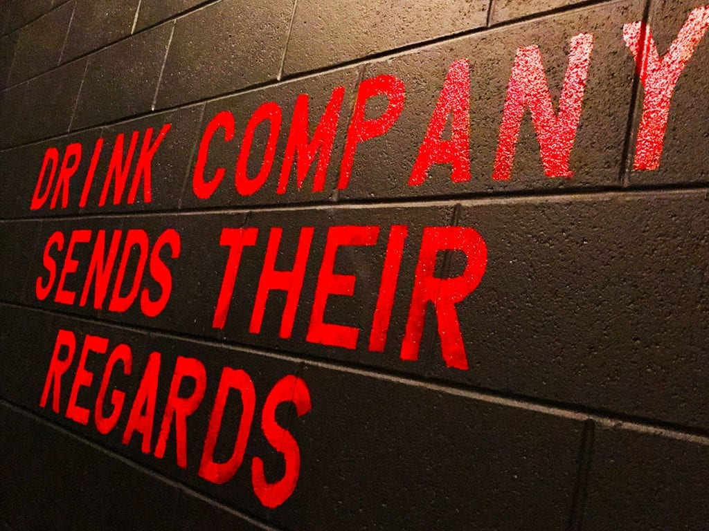 Drink Company Sends Their Regards