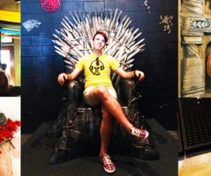 Game of Thrones Pop Up Bar in Washington DC