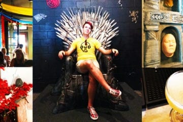 Game of Thrones Pop Up Bar in Washington DC