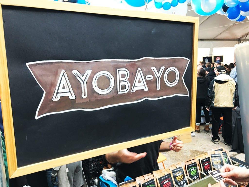 Ayoba Yo at Emporiyum at Union Market Washington DC