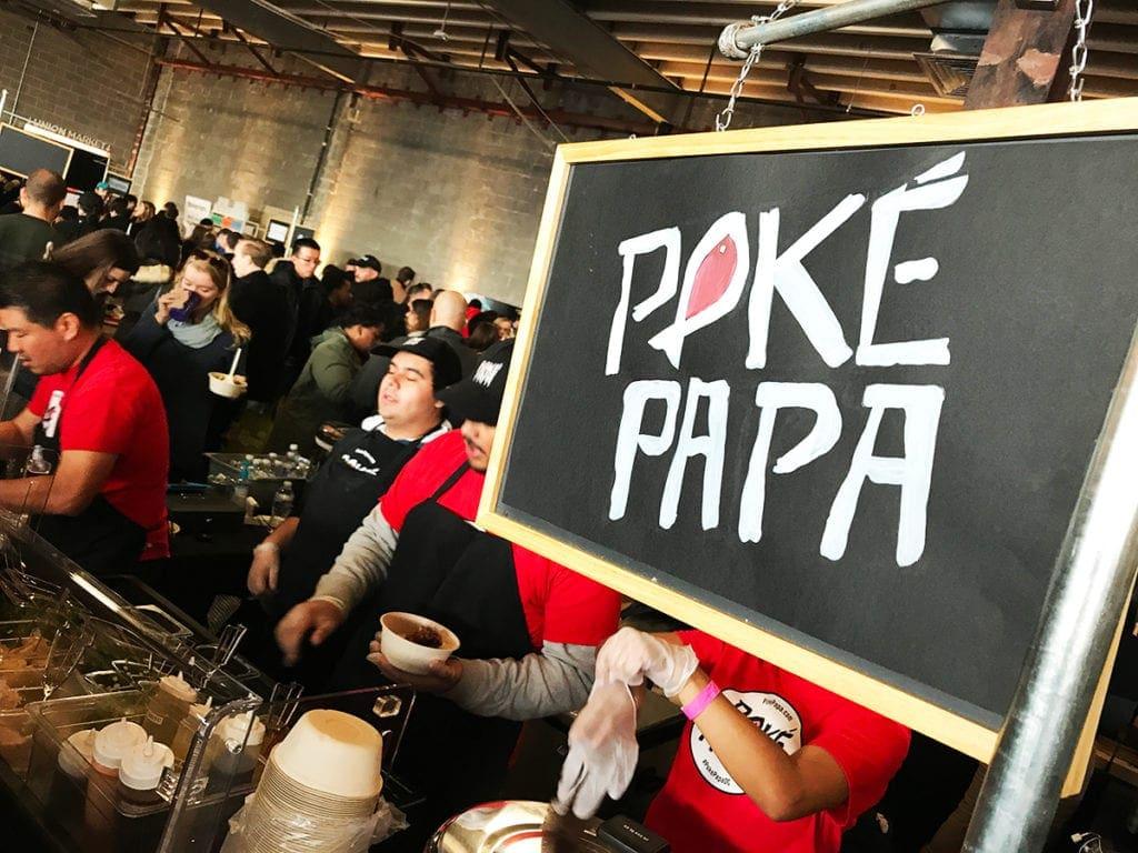 Poke Papa at Empriyum in Union Market Washington DC