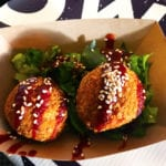 Vegan Mozzarella Balls @ Pow Pow during Emporiyum