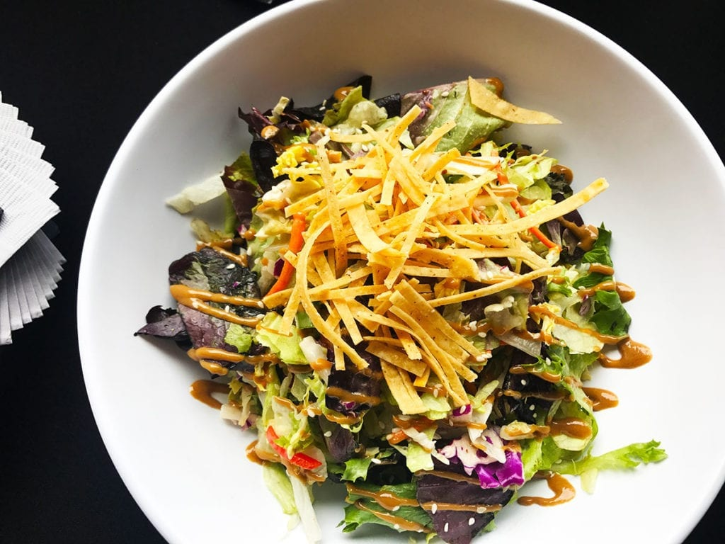 Nappa Salad @ Triple Craft