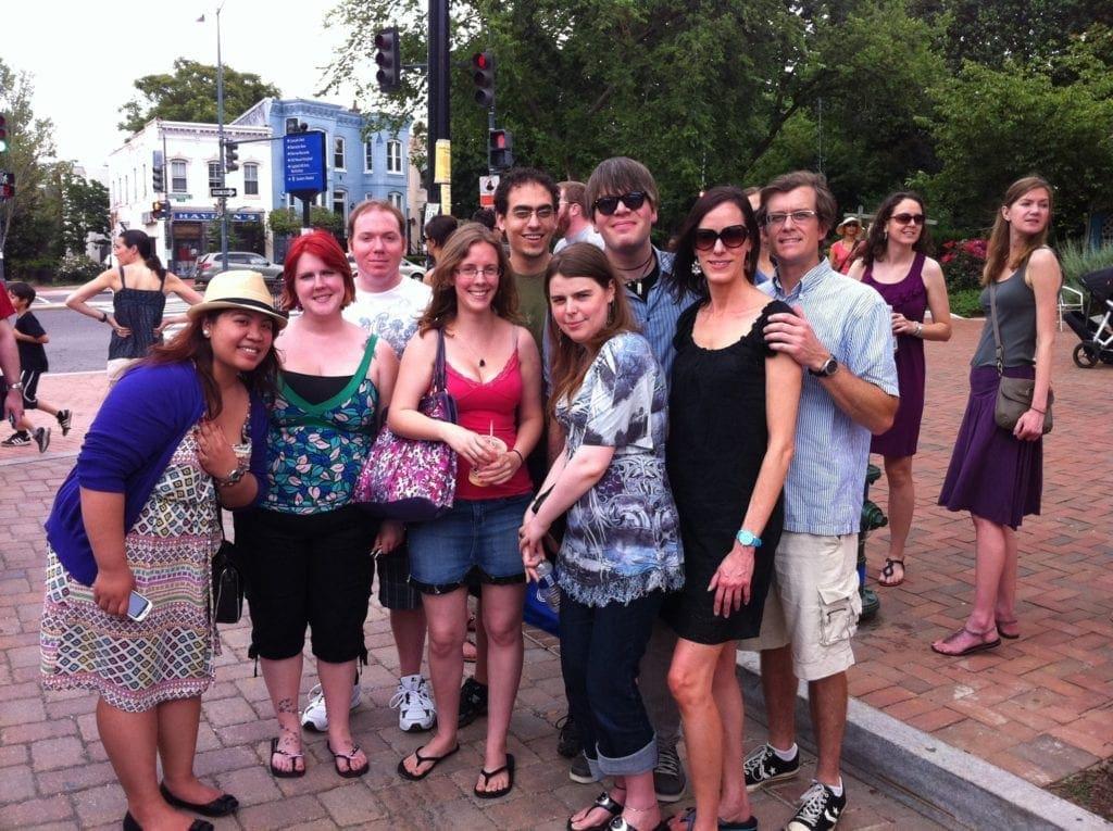 Fans @ Top Chef Tour in Eastern Market Washington DC