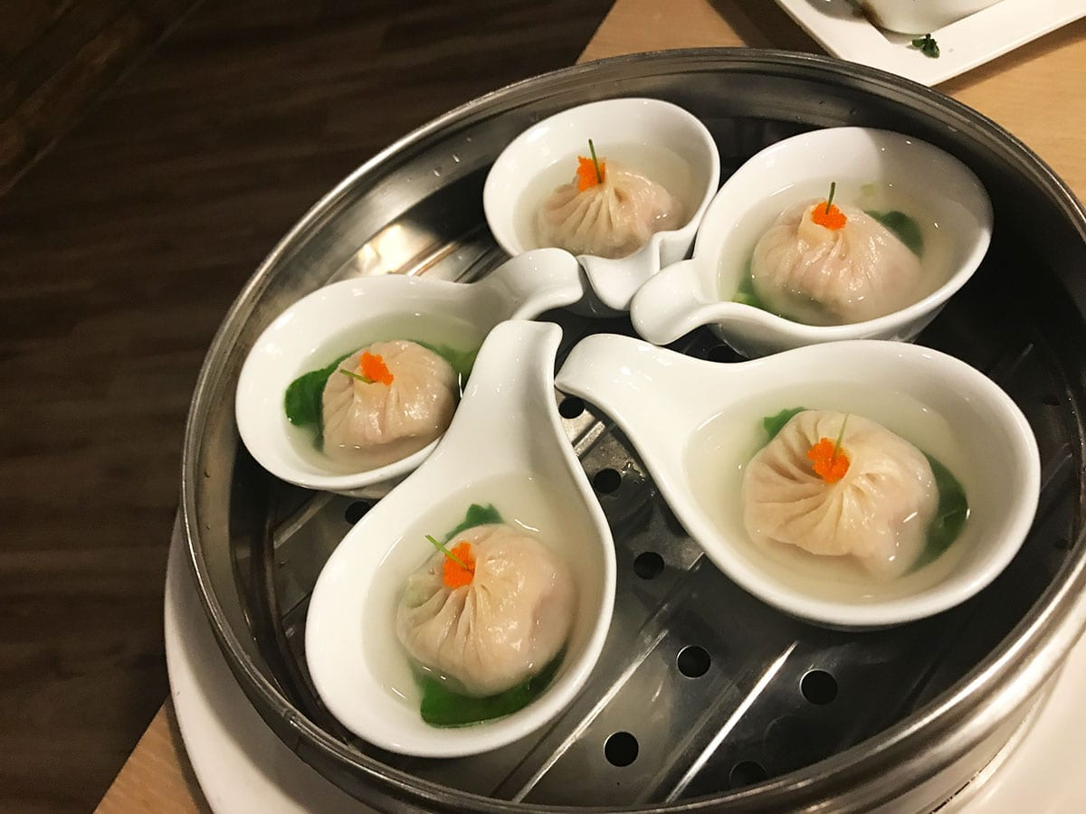 Soup Dumplings from Q by Peter Chang