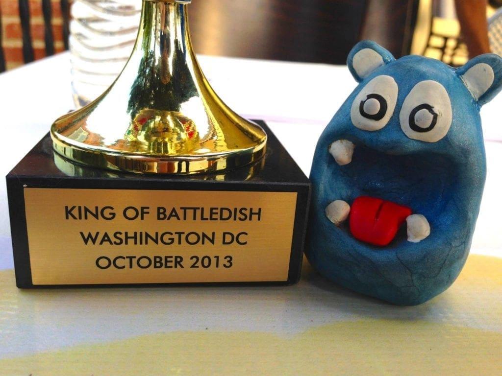 NOM NOM Boris at Battledish International Culinary Competition in Washington DC
