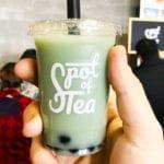 Blue Jasmine Bubble Tea from Spot of Tea at Emporiyum 2018