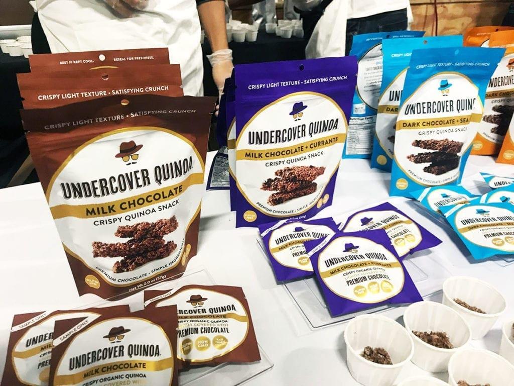 Quinoa Snacks from Undercover Quinoa at Emporiyum 2018