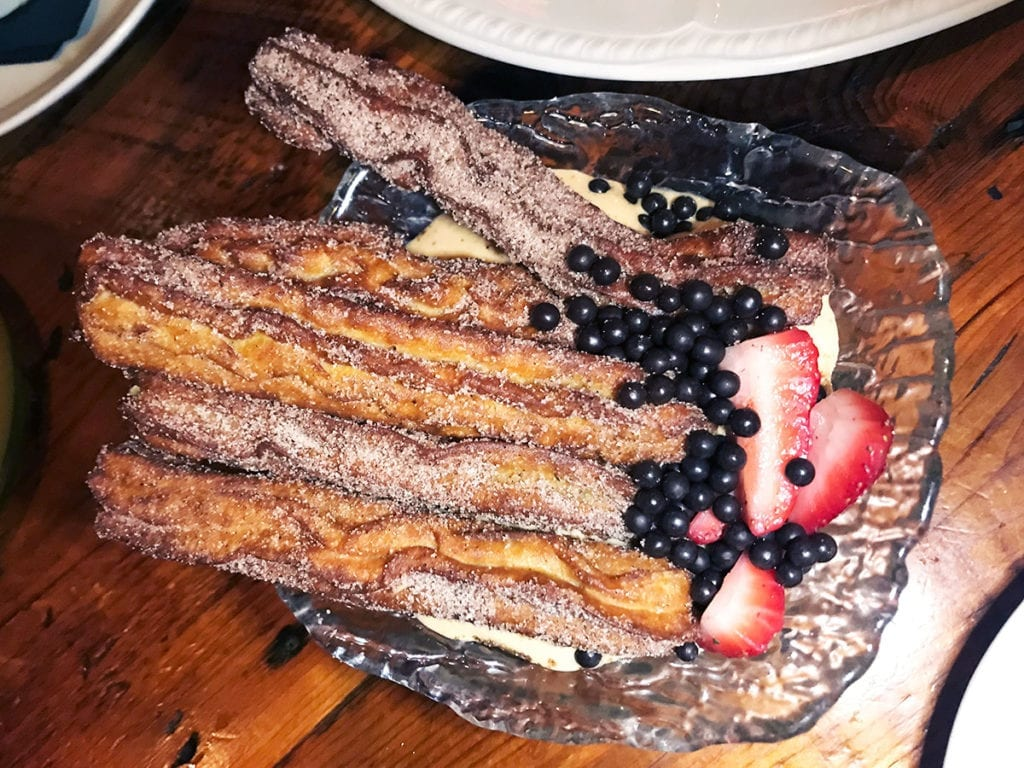 Churros Con Dulce from Tico (4 NOMs)