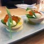 Japanese Deviled Eggs @ Haikan