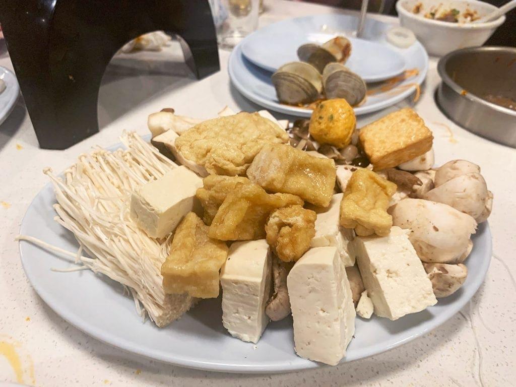 Tofu and Mushrooms from HotSpot Chantilly NOVA Virginia