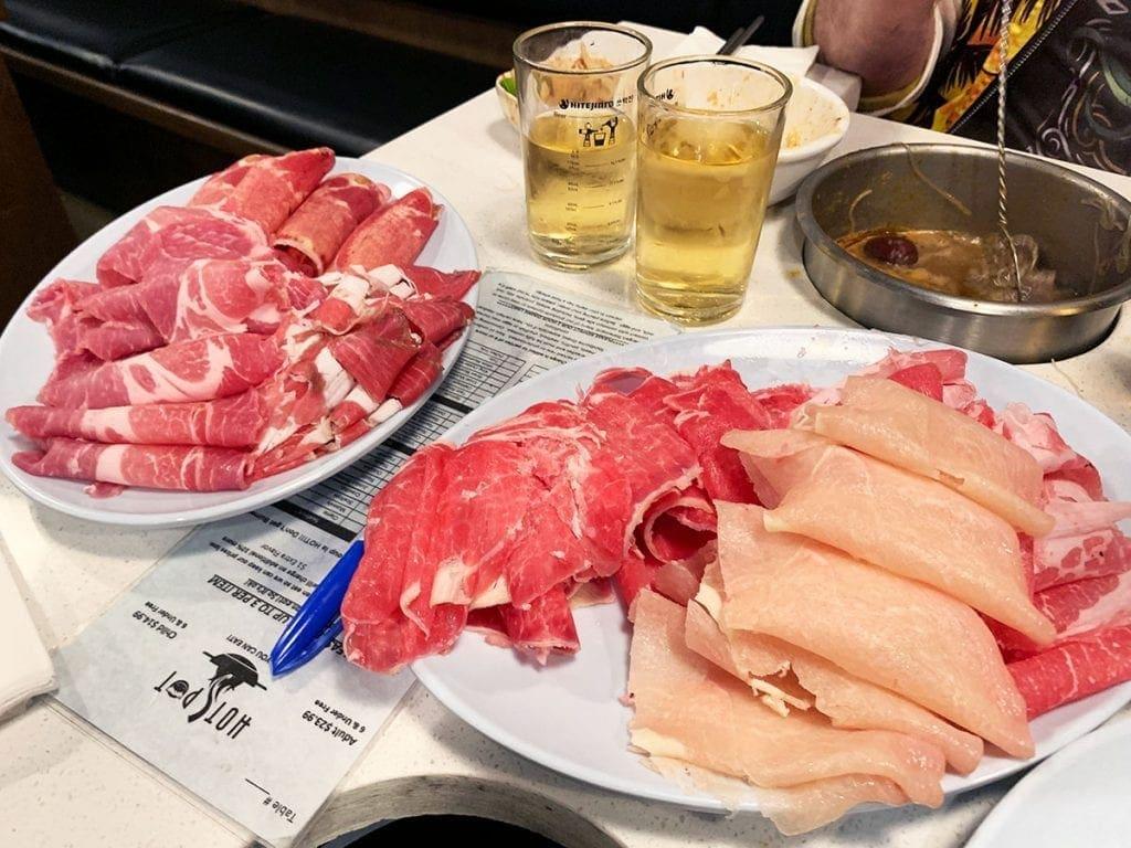 Meats at HotSpot Chantilly NOVA Virginia