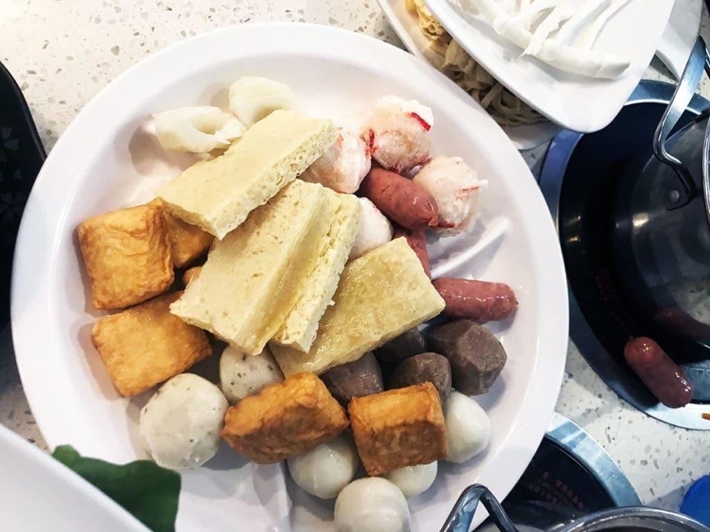 Tofu, Seafood Balls, Meat Balls, Chinese Sausages and More from Hot Spot Fairfai NOVA Virginia