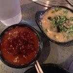 Dipping Sauce at K-Pot Hot Pot