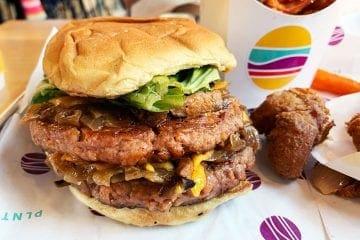 DBL PLNT Burger at PLNT Burger