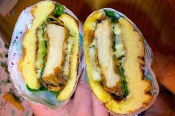 FUNGUY Fried Chicken Sandwich @ PLNT Burger