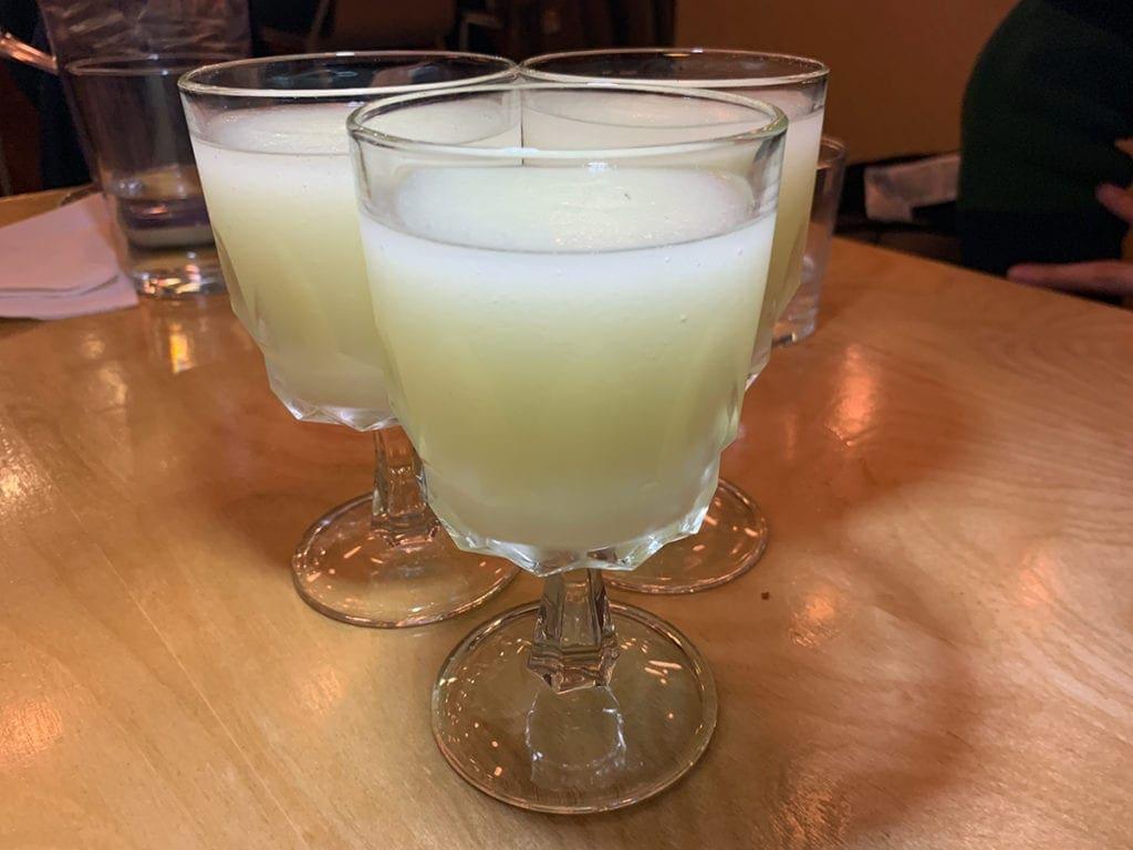 Fruzu Frozen Yuzu Lemonade from Haikan in Shaw Washington DC
